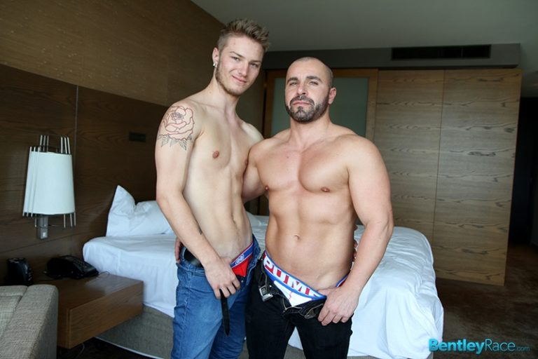 BentleyRace Sarpa Van Rider muscled stud Italian Marco Pirelli jock strap ass cocksucking asshole lubed thick cock sexual positions 001 tube download torrent gallery photo 768x512 - Sarpa Van Rider and Marco Pirelli