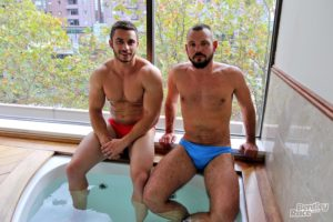 BentleyRace french muscle boy Romain Deville australian James Nowak big thick uncut dick anal ass fucking speedos sexy boys ripped abs 002 gay porn sex gallery pics video photo 300x200 - Sexy young muscle dudes Shaw and Daniel big cock bareback ass fucking