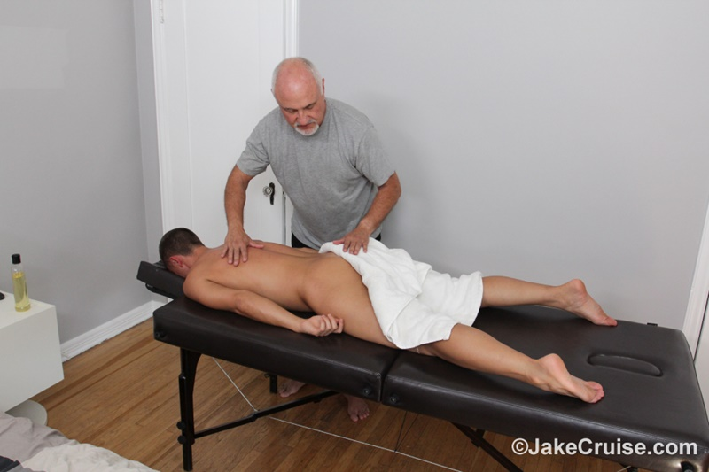 JakeCruise Sexy young dude Wolfie Blue big thick cock massage older guy Jake Cruise masturbation mature for younger 004 gay porn sex gallery pics video photo - Sexy young dude Wolfie Blue massaged by older guy Jake Cruise