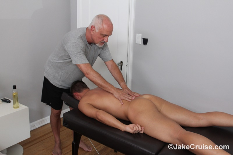 JakeCruise Sexy young dude Wolfie Blue big thick cock massage older guy Jake Cruise masturbation mature for younger 011 gay porn sex gallery pics video photo - Sexy young dude Wolfie Blue massaged by older guy Jake Cruise