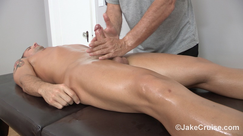 JakeCruise Sexy young dude Wolfie Blue big thick cock massage older guy Jake Cruise masturbation mature for younger 023 gay porn sex gallery pics video photo - Sexy young dude Wolfie Blue massaged by older guy Jake Cruise