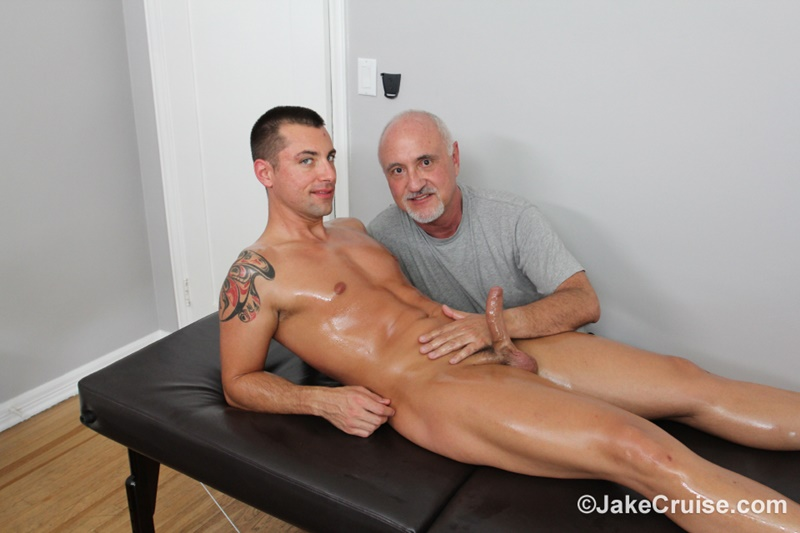 JakeCruise Sexy young dude Wolfie Blue big thick cock massage older guy Jake Cruise masturbation mature for younger 025 gay porn sex gallery pics video photo - Sexy young dude Wolfie Blue massaged by older guy Jake Cruise