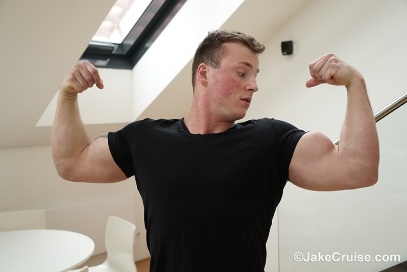 JakeCruise hot big muscle man nude bodybuilder Jake Cruise Tommy Morava solo jerk off big thick large dick jerking cumshot 003 gay porn sex gallery pics video photo - Jake Cruise Tommy Morava solo jerk off