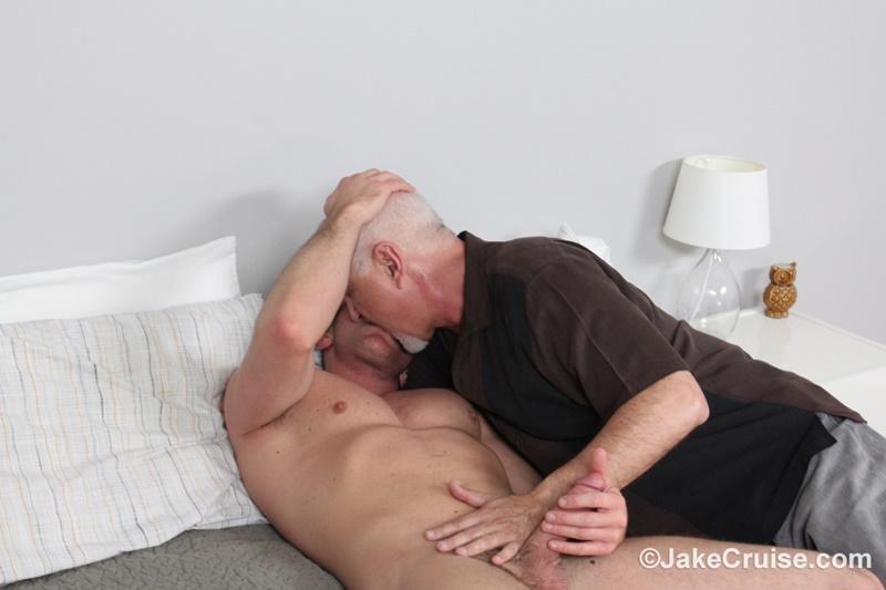 JakeCruise sexy young naked dude Jacob Durham big cock serviced older men mature Jake Cruise large thick dick cocksucker 010 gay porn sex gallery pics video photo - Jacob Durham's big cock serviced by Jake Cruise