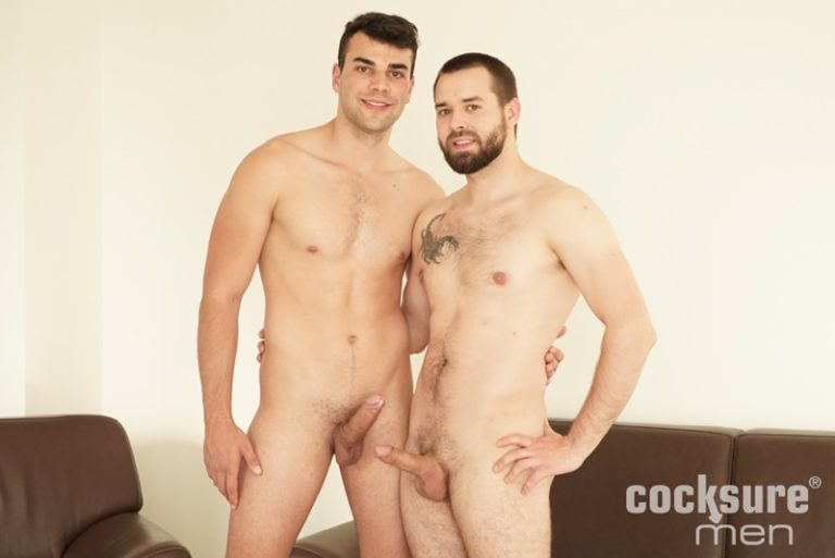 CocksureMen Joel Vargas huge bare dick bareback fucking Martin Dajnar tight muscular asshole hot naked European muscle hunks 001 gay porn sex gallery pics video photo 768x513 - Joel Vargas' huge bare dick bareback fucking Martin Dajnar's tight muscular asshole