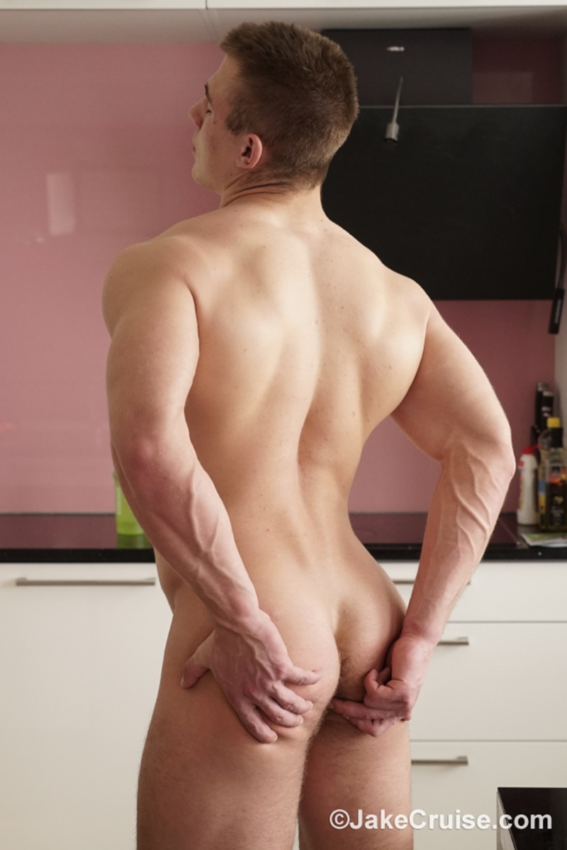 JakeCruise Sexy young nude muscle dude 18 year old Ondrej Filip bubble butt Jake Cruise spanks slaps thick large dick sucking 015 gay porn sex gallery pics video photo - Jake Cruise takes advantage of 18 year old big muscle boy Ondrej Filip