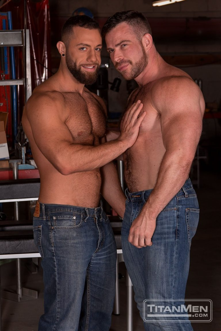 TitanMen sexy hardcore muscle dudes Liam Knox anal fucking Eddy Ceetee fuck sling gay porn sex ass fucking big thick large dicks 002 gay porn sex gallery pics video photo 768x1152 - Hardcore muscle dudes Liam Knox and Eddy Ceetee fuck in the sling factory