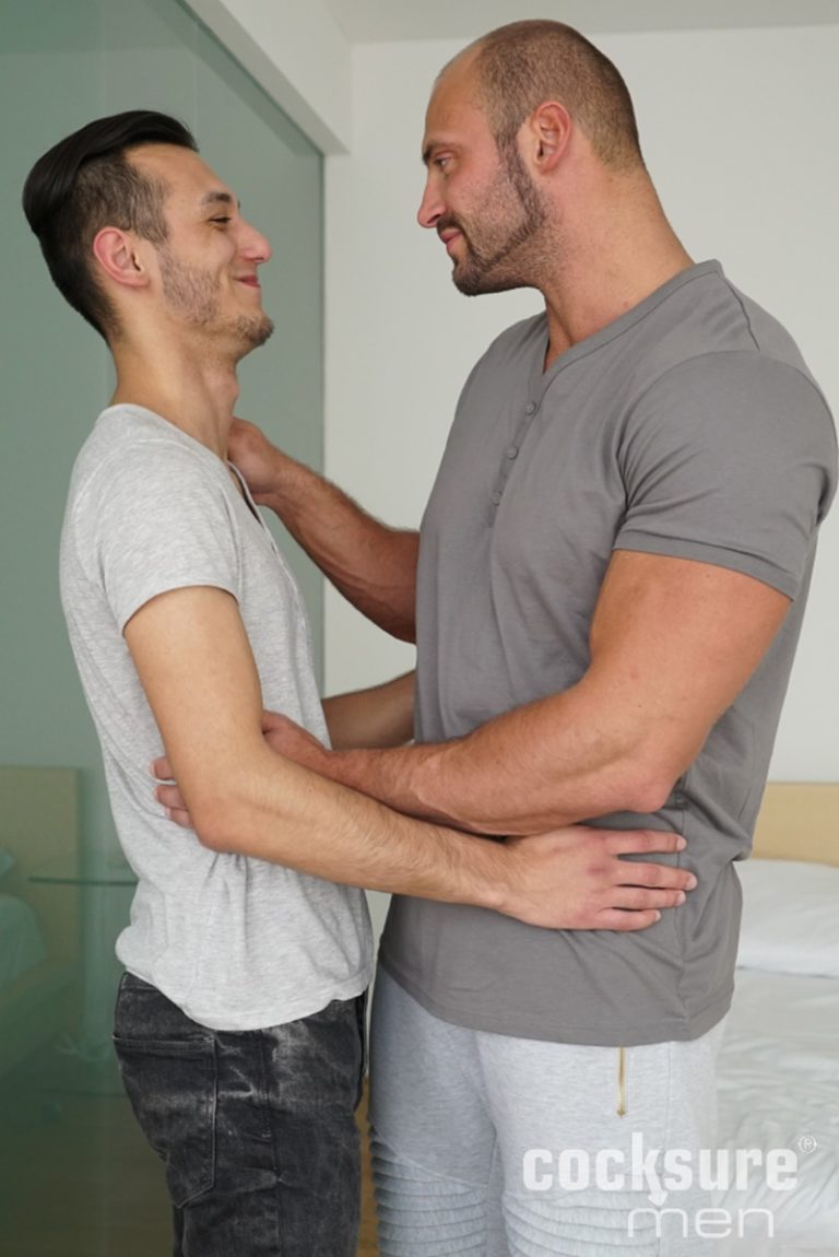 CocksureMen sexy Muscle stud Thomas Ride hung Martin Muse raw bareback ass fucking anal rimming bare big dick foreskin 002 gay porn sex gallery pics video photo 768x1150 - Muscle stud Thomas Ride and hung Martin Muse raw bareback ass fucking