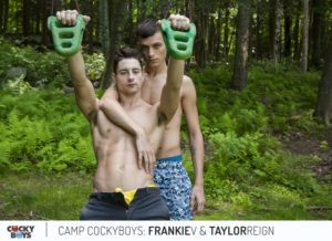 Cockyboys gay porn star sex pics Taylor Reign rims fucks Frankie Valentine muscled tight asshole ripped six pack abs big dicks 002 gay porn sex gallery pics video photo 300x218 - Dark Alley's Tag Team Breeders dirty sluts who want their asses plowed by two sexy sweaty men and their huge cocks