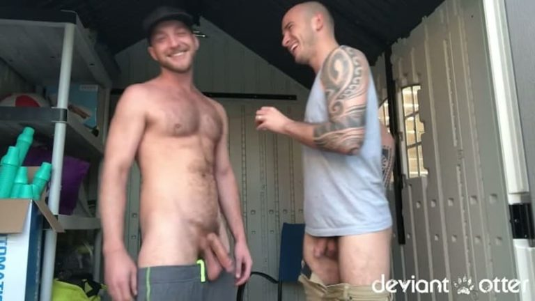 DeviantOtter gay porn Bareback Anal big traw bare dick fucking sex pics Prep Condom free gaysex ass fuck 002 gallery video photo 768x432 - Deviant Otter Bareback Anal Only