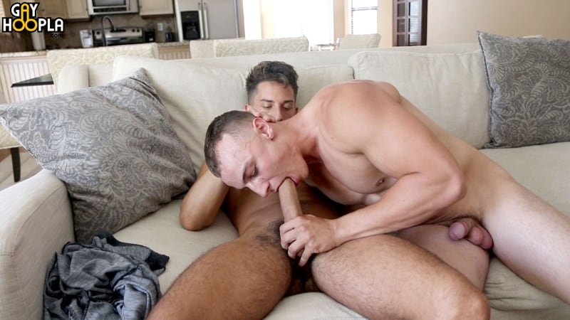 GayHoopla gay all american big dick sucking sex pics Trevor Brown first time anal tight ass fucking Bradley Whitman 012 gallery video photo - Trevor Brown's first time his tight ass gets a fucking by Bradley Whitman's huge American dick