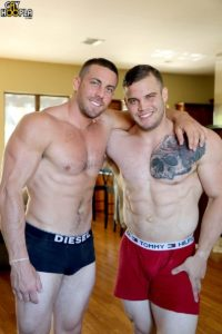 GayHoopla gay porn all american naked muscle dudes sex pics Buck Carter Derek Jones muscle jock flip flop ass fucking 002 gallery video photo 200x300 - Buck Carter and Derek Jones muscle jock flip flop ass fucking