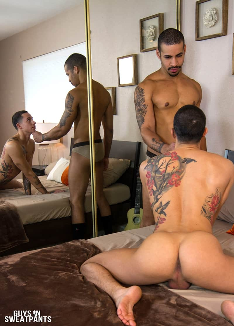 GuysinSweatpants gay porn long football socks Bottom boy rough sex pics Vincent top guy Judas big thick dick sucking 004 gallery video photo - Bottom boy Vincent loves getting roughed up while fucked by top guy Judas