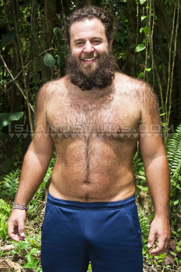 IslandStuds gay porn straight nude hairy dude bear sex pics Brawn sexy strips jerks big uncut dick foreskin 002 gallery video photo 768x1155 - Hairy bear Brawn is a super sexy 27 year old mango farmer who strips and jerks his big uncut dick