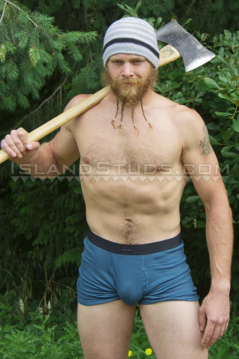 IslandStuds gay porn sexy bearded ripped muscle butt fire fighter sex pics Bain camps nude jerks off huge dick outdoors 001 gallery video photo 768x1155 - Sexy bearded ripped muscle butt fire fighter Bain camps nude and jerks off outdoors in chilly Oregon