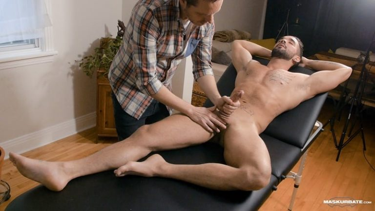 Maskurbate gay porn big muscle cock massage happy ending naked men sex pics Pascal Zack Lemec 001 gallery video photo 768x432 - Pascal worships Zack Lemec's gorgeous ripped body as he jerks out a huge long lasting cumshot