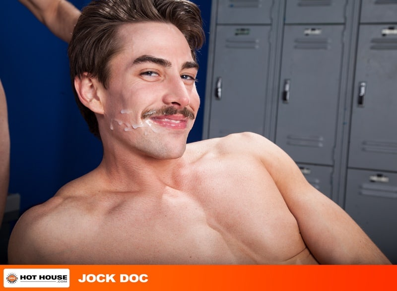 Hothouse gay porn naked sportsman sport socks locker room ass fucking sex pics Jack Hunter Woody Fox 015 gallery video photo - Locker room ass fucking Jack Hunter takes the full length of Woody Fox's massive cock