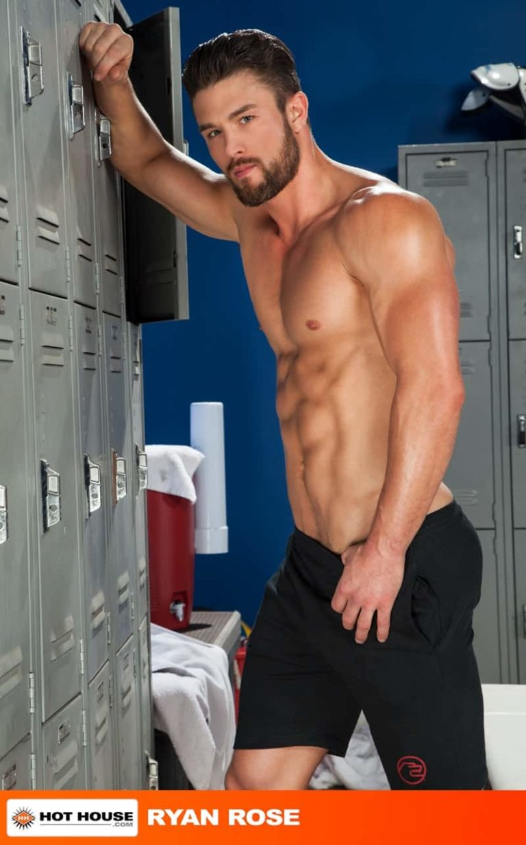 Hothouse gay porn naked sports coach jockstrap locker room sex pics Danny Gunn Ryan Rose sucking big thick cock 002 gallery video photo 768x1232 - Danny Gunn obeys coach Ryan Rose getting on the floor sucking on his big thick cock