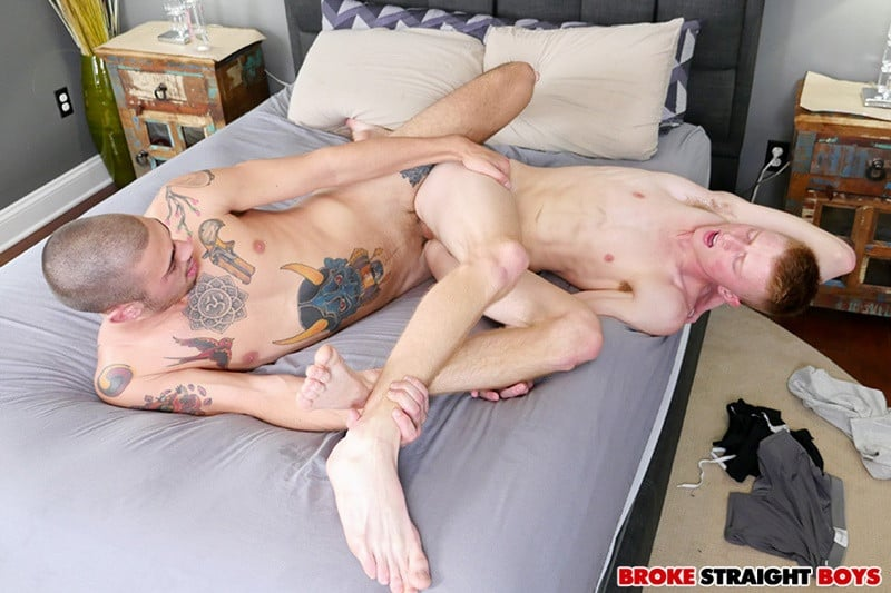 BrokeStraightBoys young nude dudes Richie West Ari Nucci huge straight dick balls smooth ass hole 012 gallery video photo - Richie West moans loudly as Ari Nucci buries his huge straight dick balls deep in his smooth ass hole