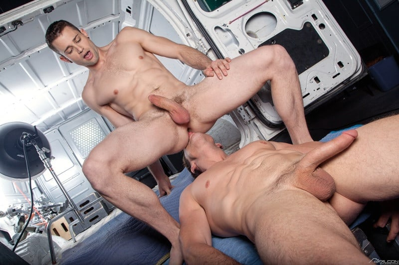 FalconStudios Quin Quire face fucks Pierce Paris ass hole huge cock anal fucking rimming cocksucker 008 gallery video photo - Quin Quire face-fucks Pierce Paris before he ready to open up his ass hole to his huge cock