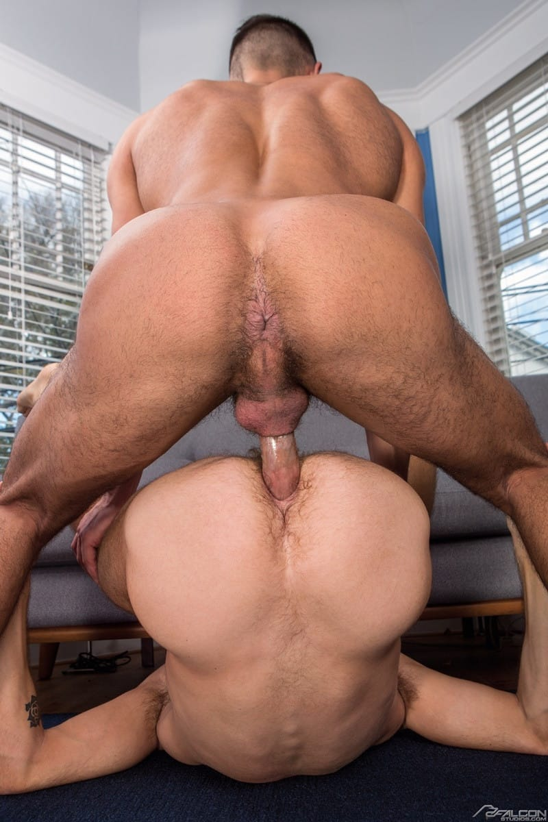 FalconStudios Seth Santoro big cock Max Adonis bubble butt ass fucking anal rimming cocksucker 015 gallery video photo - Seth Santoro's big cock feels amazing deep inside of Max Adonis bubble butt ass