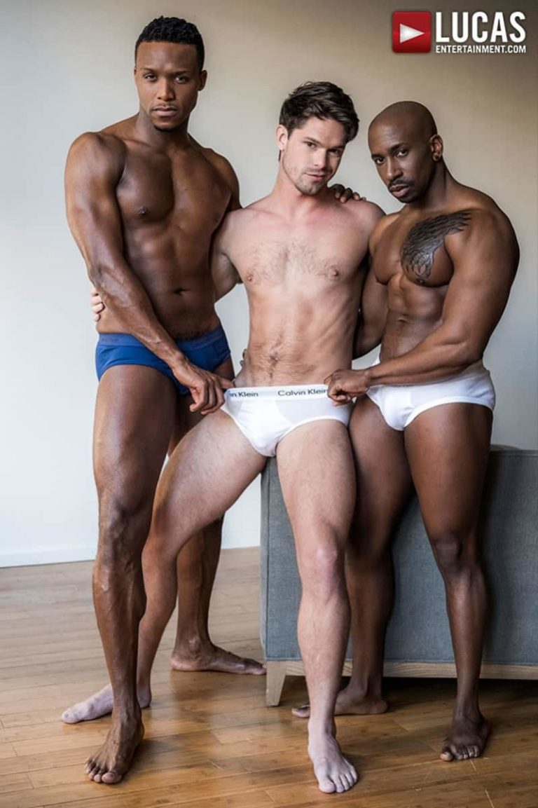 LucasEntertainment Hung big black studs cocks Andre Donovan Max Konnor double fuck spit roasting Devin Franco 002 gallery video photo 768x1153 - Hung black studs Andre Donovan and Max Konnor double fuck spit roasting Devin Franco