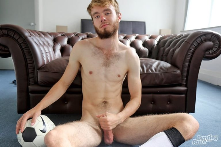 BentleyRace 21 year old Tom Jackson strips naked soccer kit jerks thick fat uncut cock massive load hot boy cum 001 gay porn pics gallery 768x512 - 21 year old Tom Jackson strips out of his soccer kit and jerks his thick fat uncut cock to a massive load of hot boy cum