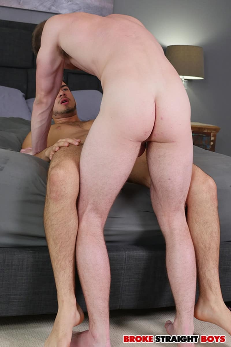 BrokeStraightBoys Brandon Evans Grey Donovan floppy long hair naked dudes sucking cock fucking asshole 022 gay porn pictures gallery - Brandon Evans' balls slapping against Grey Donovan's dominated ass cheeks as he takes that big dick
