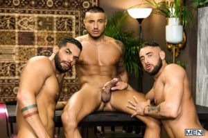 Men Hot big muscle threesome Massimo Piano Klein Kerr Lucas Fox hardcore thick muscled dick fucking 001 gay porn pictures gallery 300x200 - Hot big muscle threesome Massimo Piano, Klein Kerr and Lucas Fox hardcore thick muscled dick fucking