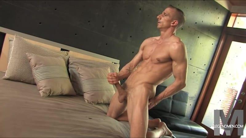 Brody Biggs ripped big muscle body jerks huge dick massive load cum LegendMen 009 gay porn pictures gallery - Brody Biggs
