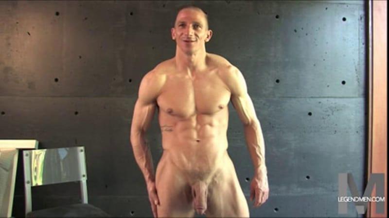 Brody Biggs ripped big muscle body jerks huge dick massive load cum LegendMen 017 gay porn pictures gallery - Brody Biggs