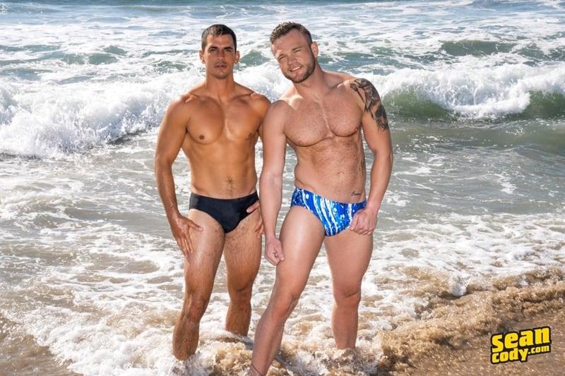 Sexy muscle dude Lachlan huge raw dick bareback fucks Sean hot bubble butt ass hole SeanCody 001 Gay Porn Pics - Sean Cody Lachlan, Sean Cody Sean