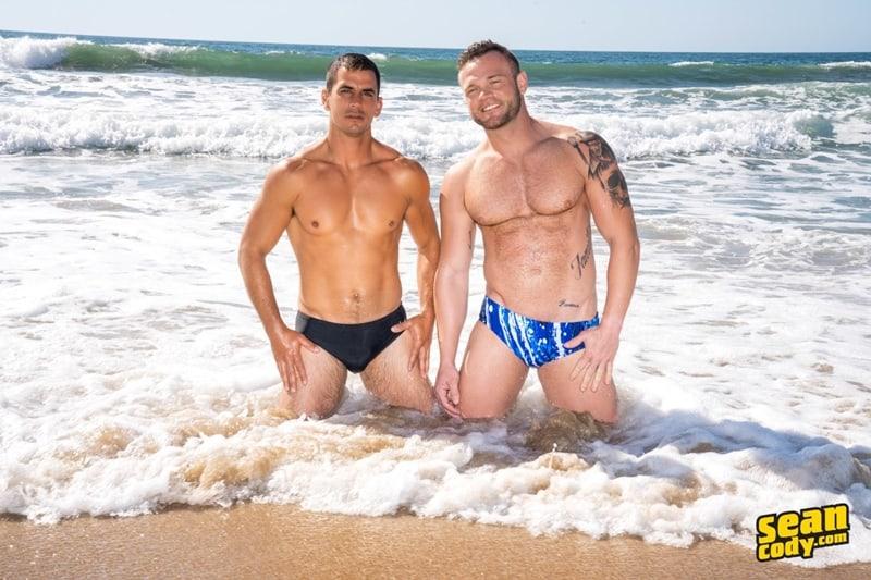 Sexy muscle dude Lachlan huge raw dick bareback fucks Sean hot bubble butt ass hole SeanCody 005 Gay Porn Pics - Sean Cody Lachlan, Sean Cody Sean