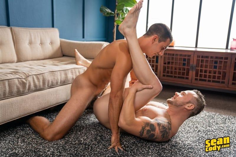 Sexy muscle dude Lachlan huge raw dick bareback fucks Sean hot bubble butt ass hole SeanCody 018 Gay Porn Pics - Sean Cody Lachlan, Sean Cody Sean